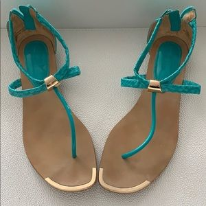 Isola Turquoise Summer Sandals